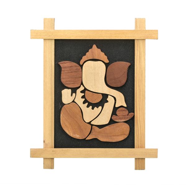 Wooden Ganesha Frame