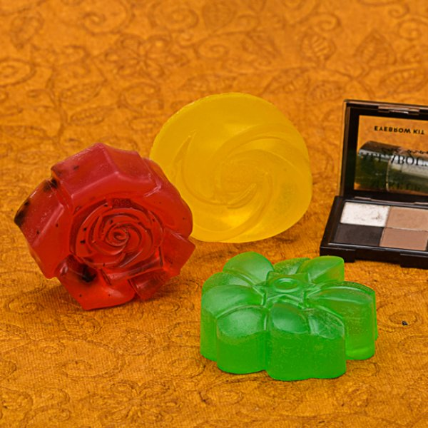 Set of 3, Assorted Luxury Soaps