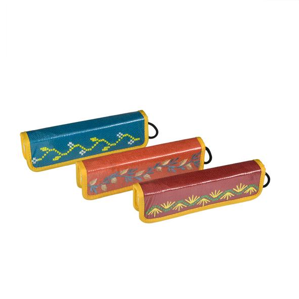 Set of 3 Jute Pencil Boxes