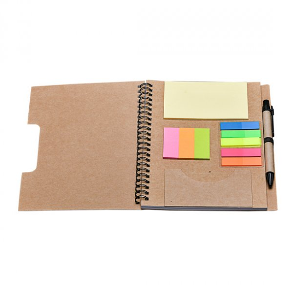 Handmade paper Notepad with painting, Size: Big