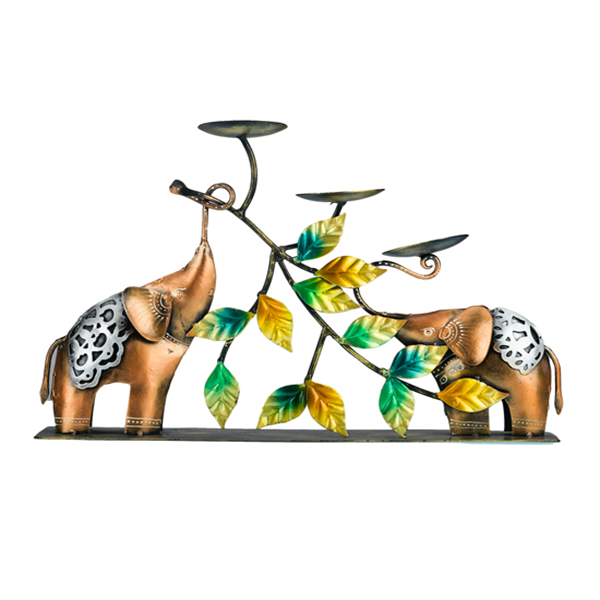 Elephant - Candle stand
