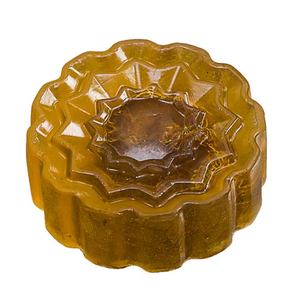 Set of 2, Loofah Honey Scrubbing Soap