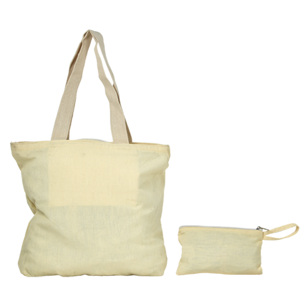 White Cotton Tote bag with Love Quotes