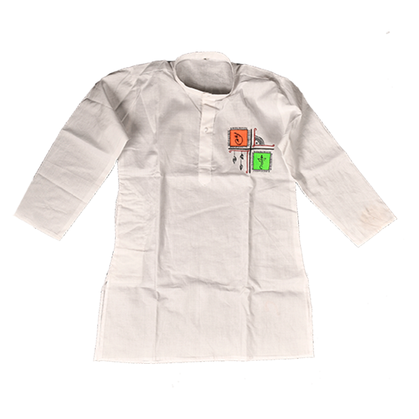 White Kurta (only Kurta) 10 yrs child