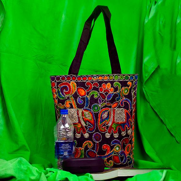 Big Haati Kutch embroidered HandBag