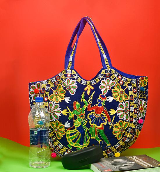 Gonda Kutch embroidered HandBag