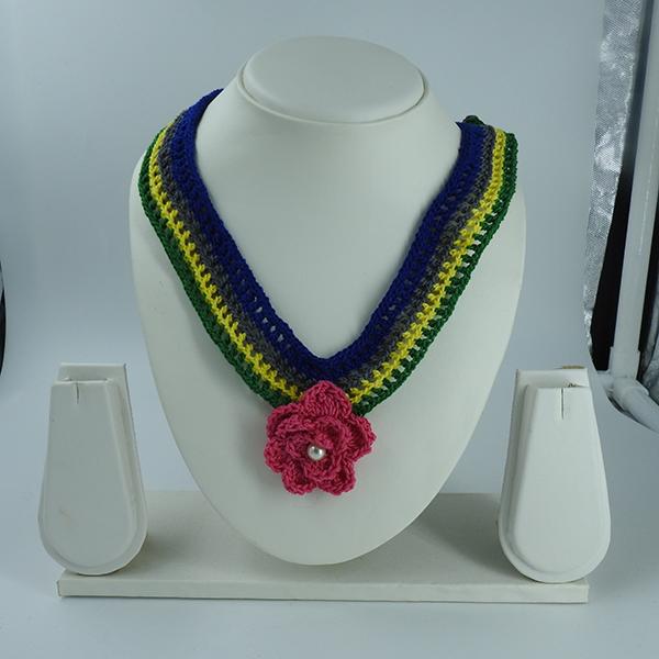 Crochet Multicolor Necklace