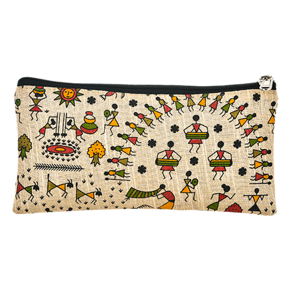 Set of 2, Warli Print Hand Purse