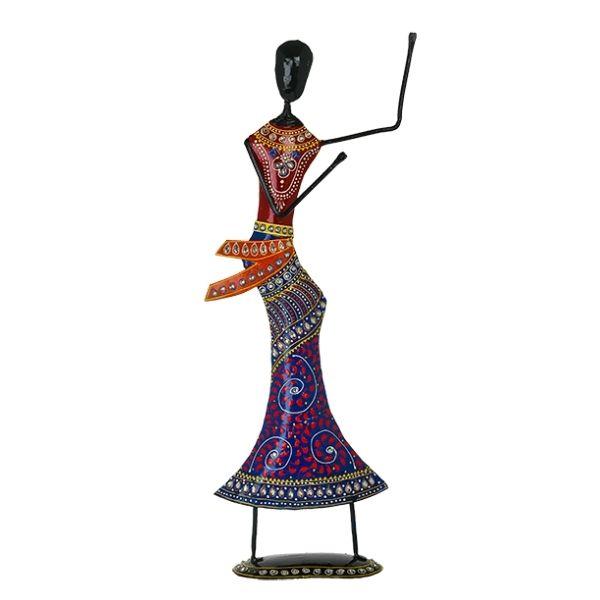 Iron Dancing Doll - Playing Dafli Pose