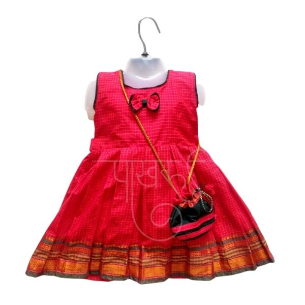 Kids Khunn Frock (3-4 Years) (Size - 22, 24)