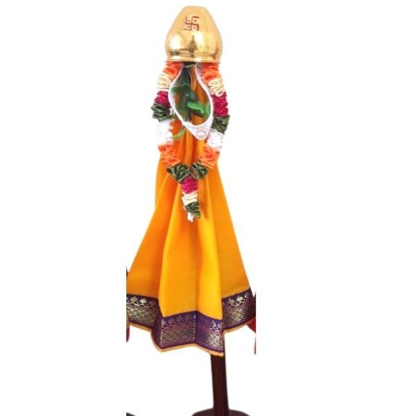 Traditional Miniature gudi with gold Gadu